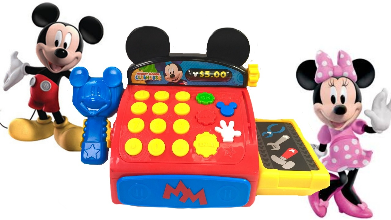 b05a034d8 Mickey Mouse Clubhouse Cash Register - YouTube