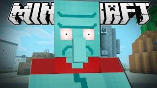 Minecraft | ANGRY SQUIDWARD!! | Sneaky Assassins Minigame