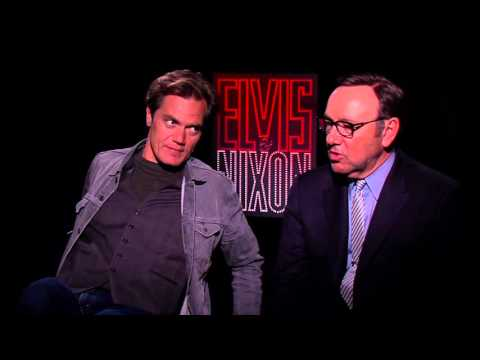 Kevin Spacey & Michael Shannon Star in 'ELVIS & NIXON' | Cast Interviews w/ @Kamaron