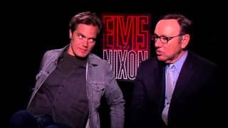 Kevin Spacey & Michael Shannon Star in ELVIS & NIXON | Cast Interviews w/ @Kamaron