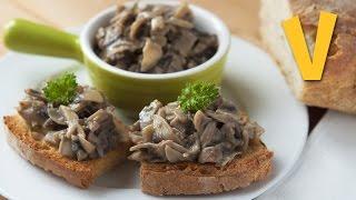 Mushroom Spread   The Vegan Corner