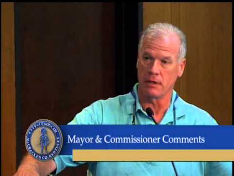 Paducah City Commission Meeting, July 15, 2014