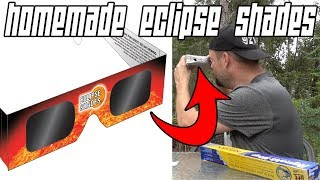 HOW TO MAKE A SOLAR ECLIPSE VIEWER WITH A CEREAL BOX // HOUSE HOLD OBJECTS!