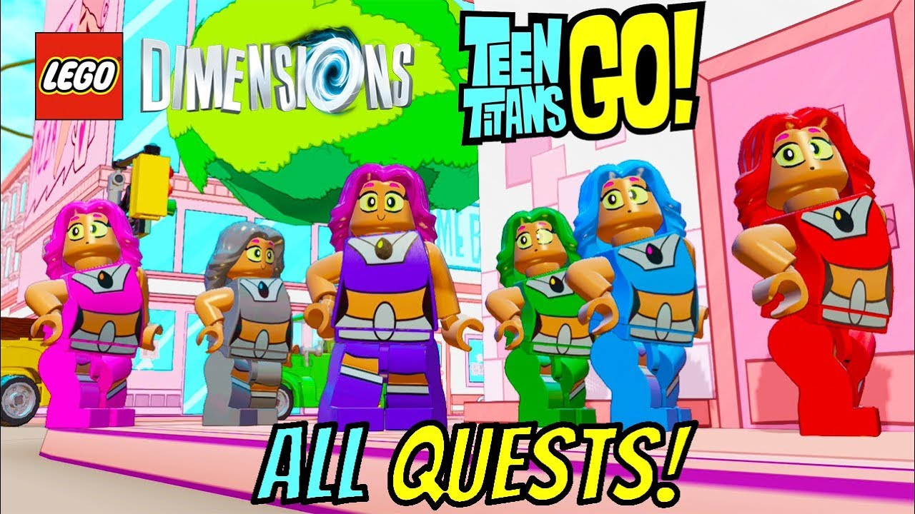 Lego Dimensions - All Teen Titans Go Quests Terra, Rose -1165