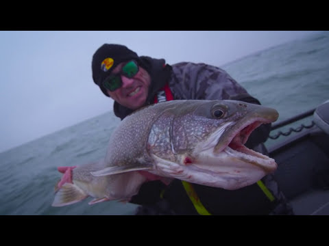 Niagara Bar Lake Trout with Paul Castellano- Dave Mercer's Facts Of Fishing
