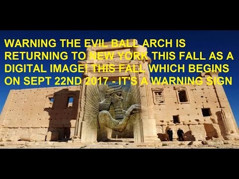 4-29-17 Baal Arched Erected AGAIN In Italy Then Returns Back To New York As Image!
