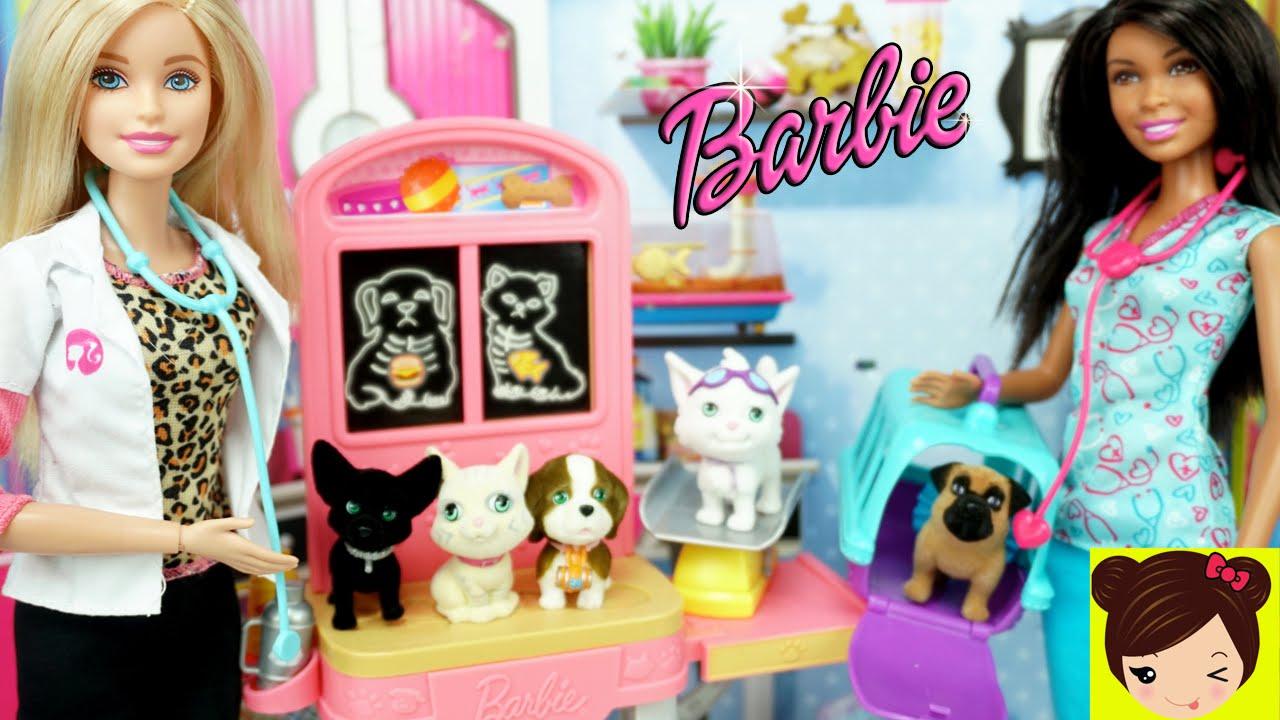 Mascotas Puppy My Con Barbie Cajitas De Pocket Veterinaria In Juego Sorpresa Kitty OkTPXZiu