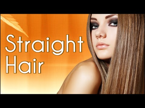 how to keep hair straight naturally at home