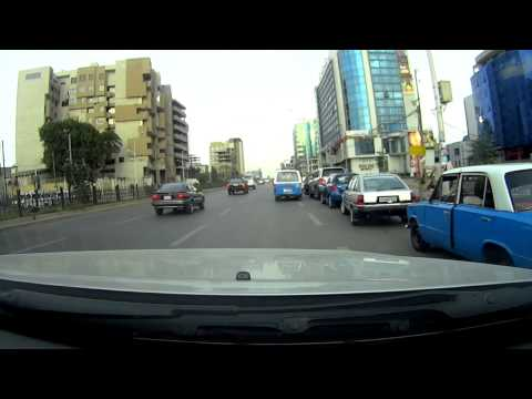 Driving Through Addis Ababa