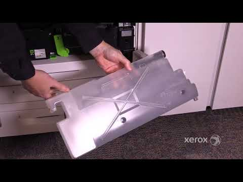 Xerox®  Color C60 70 How to Replace the Waste Toner Bottle