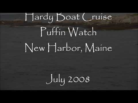 Hardy Boat Cruise Puffin Watch Tour New Harbor Pemaquid, Maine