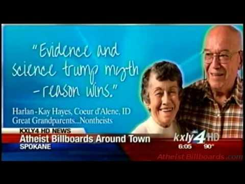 Atheist Billboards - Spokane, WA - Freedom From Religion Foundation (FFRF) - Local news