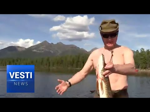 Putin's Fishing Trip in Siberia
