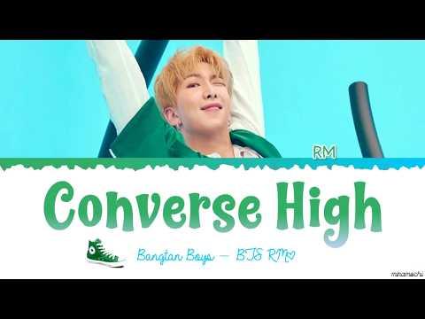BTS - Converse High (RM Ver.) Lyrics #HAPPYRMDAY