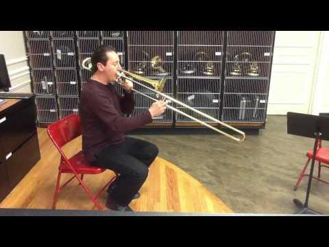 Trombone Chromatic Scales
