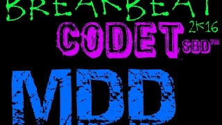codetSBD Mixtape = breakbeat 2016 v 4
