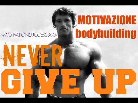 Bodybuilding Motivation Arnold Schwarzenegger NEVER GIVE UP Motivazione Bodybuilding HD