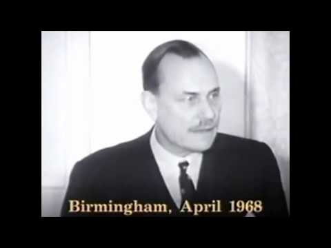 Enoch Powell's Rivers Of Blood Speech in 1080p