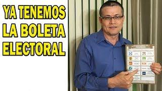 ¡Tenemos la Nueva Boleta Electoral! Aprendamos juntos donde votar por López Obrador