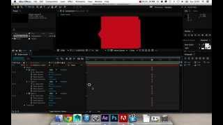 After Effects - Basic shape morph & Easy Ease Keyframes tutorial | Pini8n