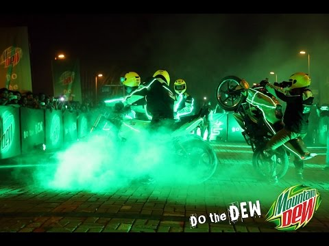 Mountain Dew LAUNCHING LIVE STUNT SHOW by...