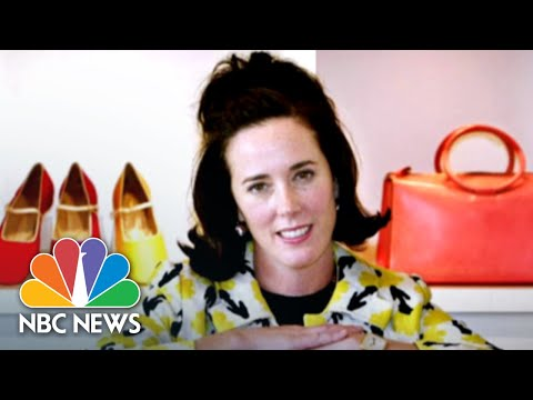 Fashion Designer Kate Spade Laid To Rest | NBC News