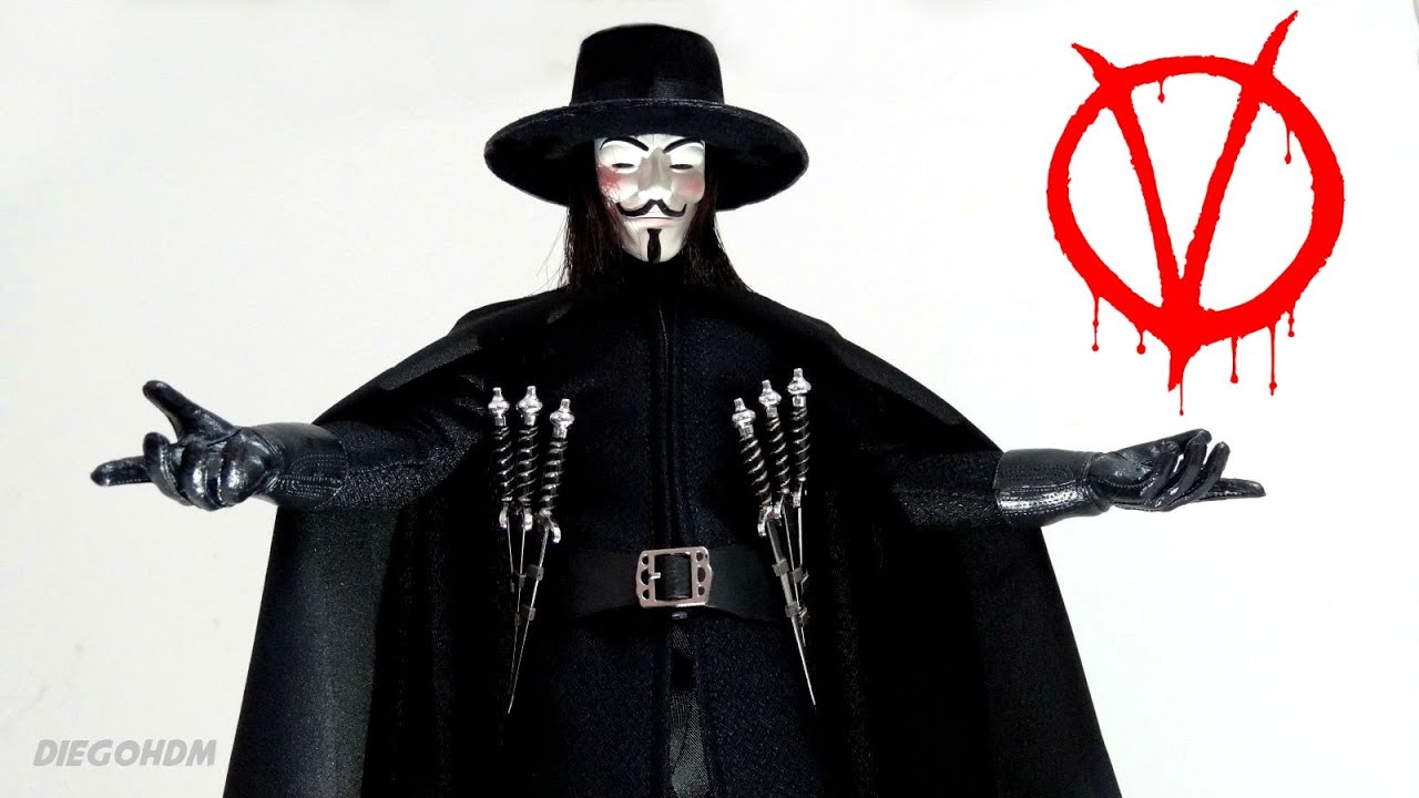 review v for vendetta V for vendetta is extremely well done the subject matter is 1984-ish and very interesting when applied to reality and where we might be headed hugo weaving's voice over as v is perfect.