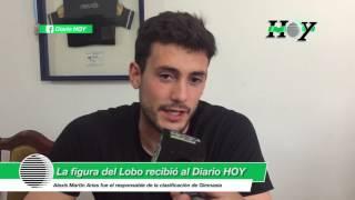 Alexis Martín Arias, la figura del Lobo, recibió al Diario HOY