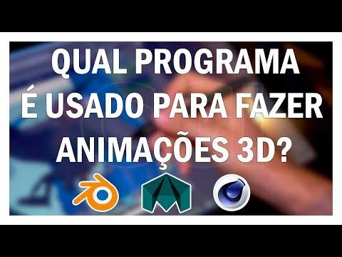 Qual o melhor programa para fazer animações 3D?   Canal CGI Brasil