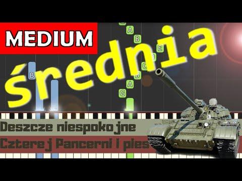 🎹 Deszcze niespokojne (Ballada o pancernych) - Piano Tutorial (średnia wersja) 🎹