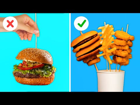 31 UNEXPECTED LIFE HACKS FOR YOUR COMFORT || Food Tricks and Crazy Tips by 5-Minute Recipes!