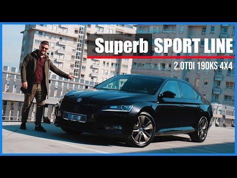 Superb SPORT LINE ///2.0 TDI 190ks 4x4 DSG