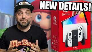 NEW Nintendo Switch OLED Details REVEALED + Hidden Features?