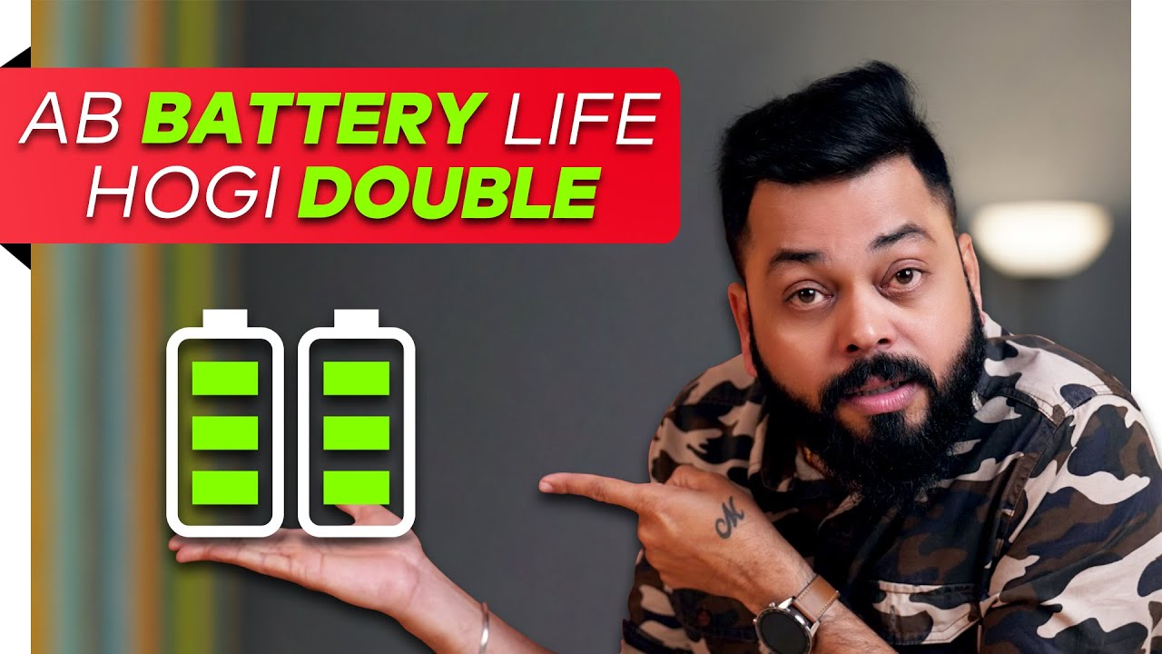 DOUBLE YOUR SMARTPHONE BATTERY LIFE ???? ⚡ ???? Battery Saving Tips And Tricks (2020)