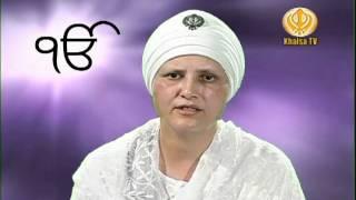 Khalsa TV Mata Baljit Kaur Khalsa Part-1