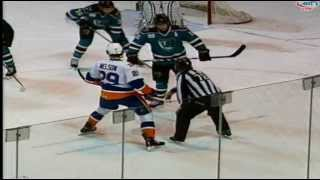 ryan strome s 1st ahl goal nelson assist worcester sharks vs bridgeport sound tigers 04 02 13