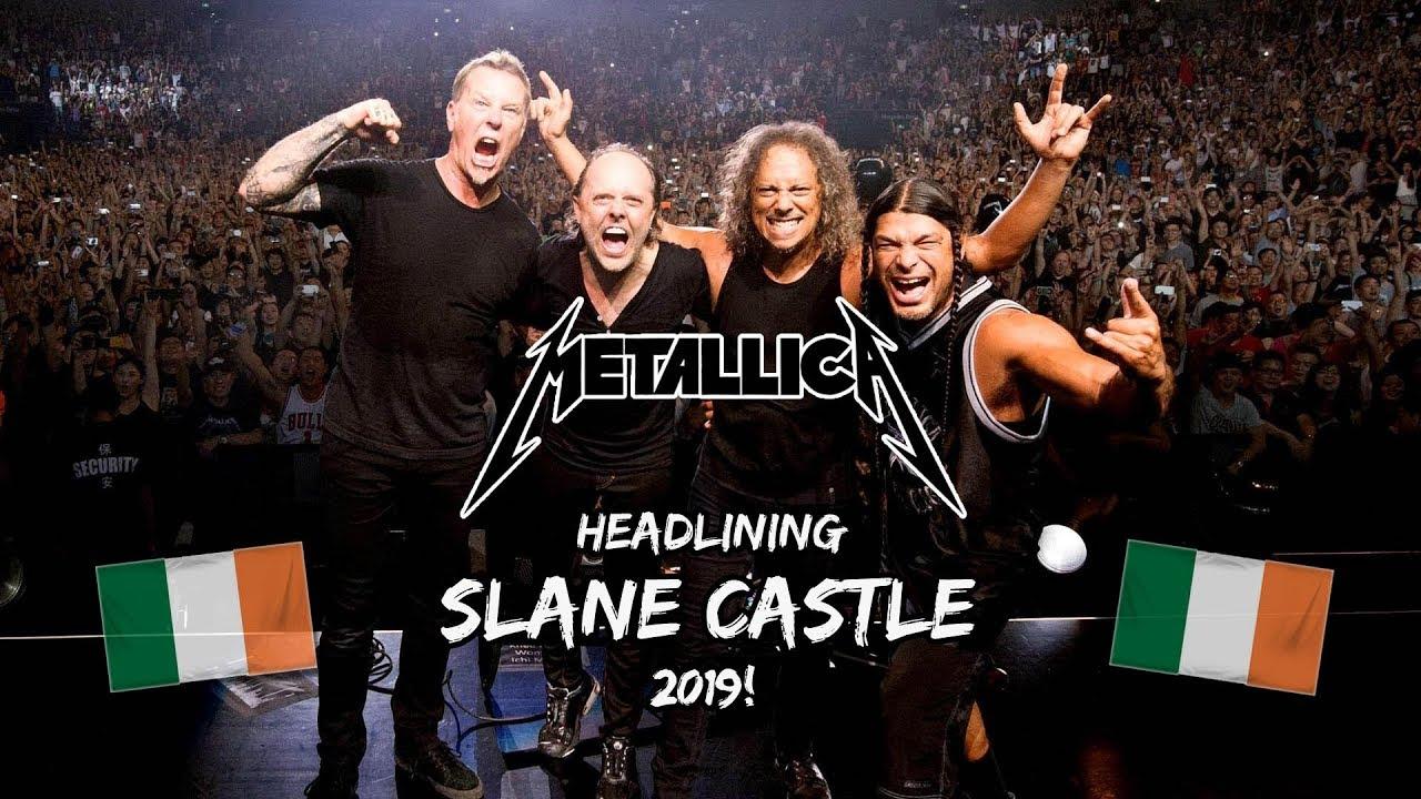 Image result for metallica slane castle 2019