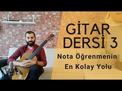 Gitarda Nota Yerleri | Gitar Dersleri 3 Başlangıç