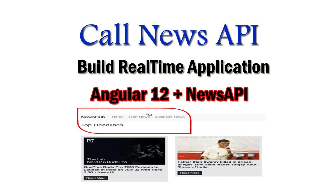 Angular 12 News App Project from Scratch