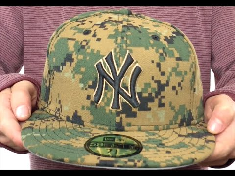 f32d72bfdb74e9 Yankees 2016 MEMORIAL DAY 'STARS N STRIPES' Hat by New Era - YouTube