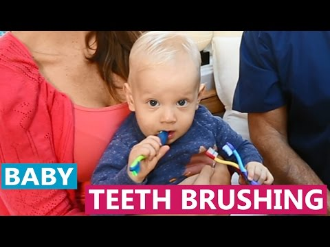 New Rules for Brushing Baby Teeth