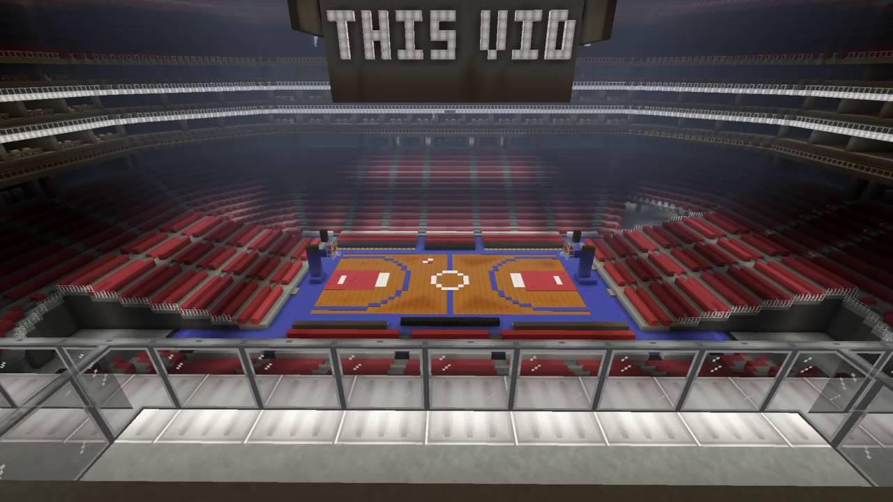 Minecraft Basketball Arena