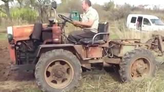 Самодельный трактор 4*4 (2)
