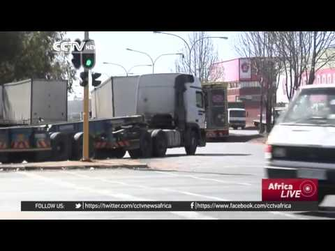 4326 economics go CCTV Afrique South Africa truck ban proposals anger business people