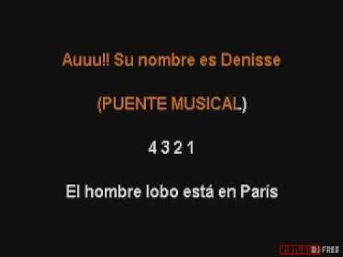 LOBO HOMBRE EN PARIS KARAOKE LA UNION jr