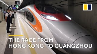 Is Hong Kong's high-speed railway the fastest way from A to B? We're putting it to the test
