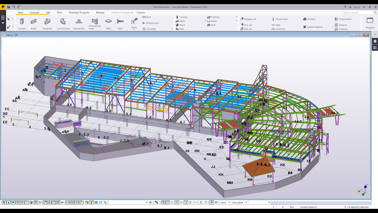 Release of tekla structures learning 2018.
