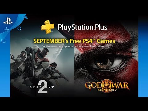PlayStation Plus  Free PS4 Games Lineup September 2018 | PS4