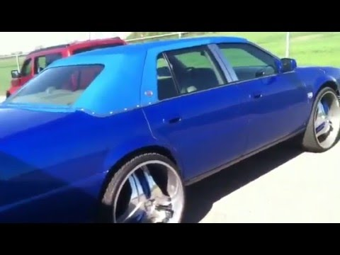 For Sale Is A 2000 Cadillac Deville With 26 Quot Rims And