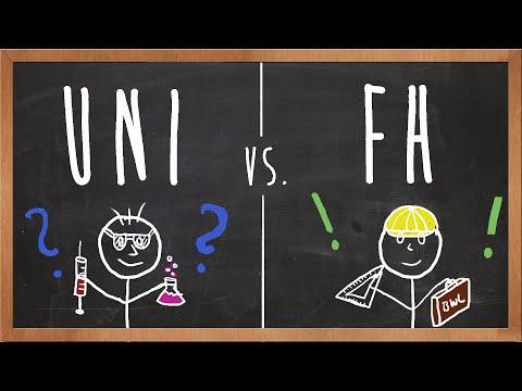Uni oder FH? Unterschiede & Erfahrungen